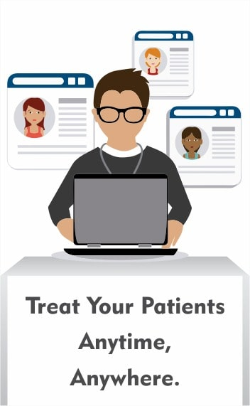 Treat your patients anytime, anywhere | Beautiful printed prescriptions
